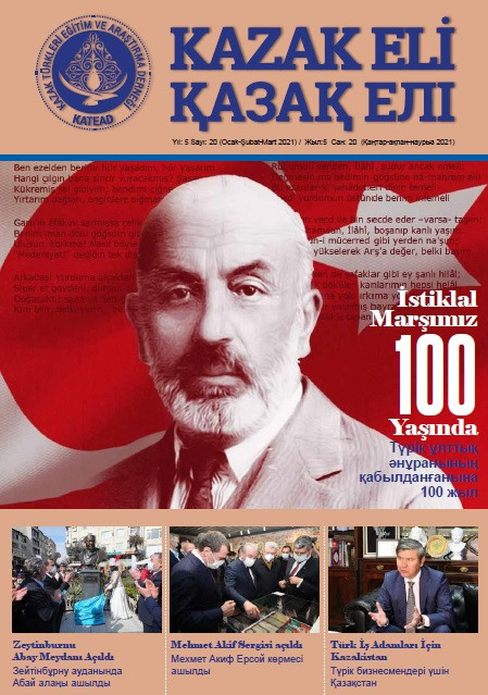 KAZAK ELİ DERGİSİ 20. SAYI - KATEAD
