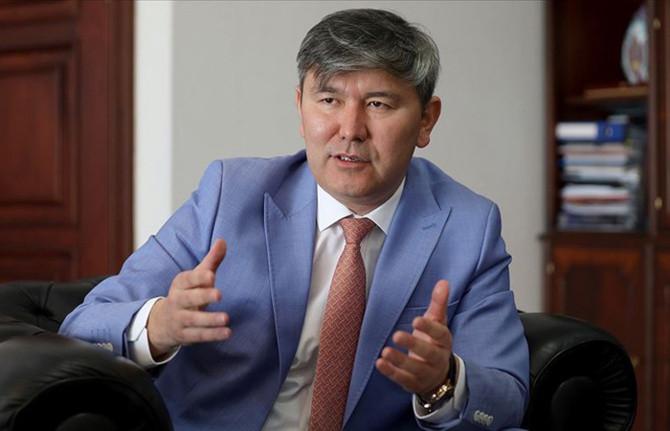 Kazakistan Ankara Büyükelçisi Abzal Saparbekuli