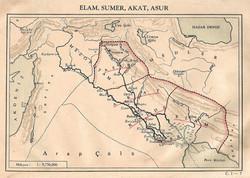 Elam, Sumer, Akat, Asur
