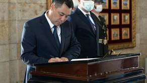Kırgızistan Cumhuriyeti Cumhurbaşkanı Sadir Zhaparov Türkiye'ye Geldi
