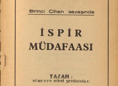 Birinci Cihan Savaşında İspir Müdafaası