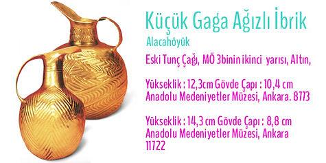 Alacahöyük, Türk Sanatı, Altın İbrik