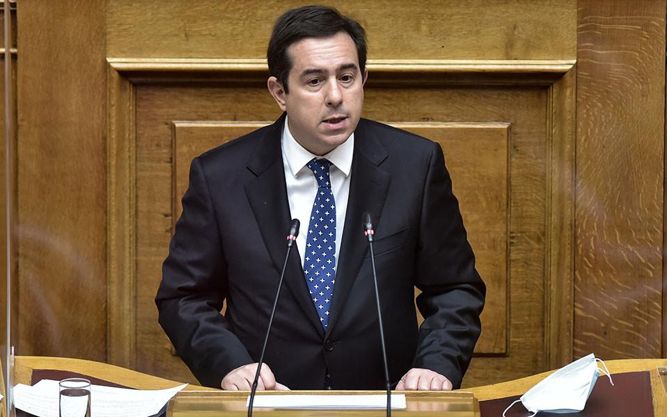 Yunanistan Göç Bakanı Notis Mitarakis, Fotoğraf - Kathimerini