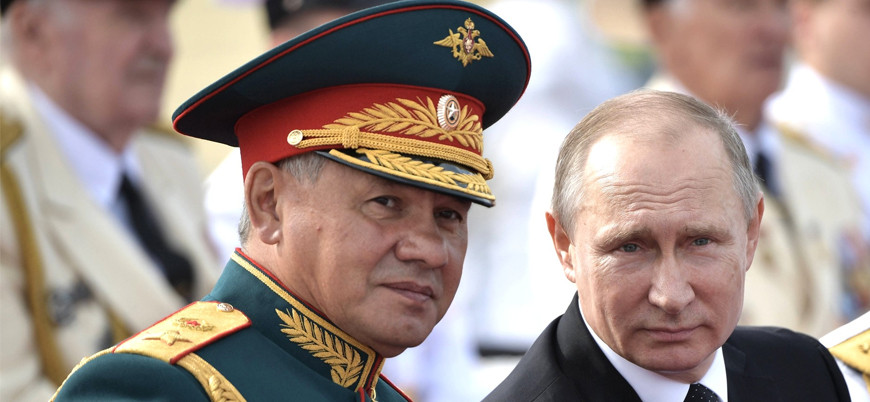 Sergey Şoygu ve Putin