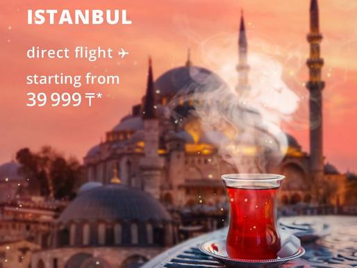 FlyArystan ile İstanbul, Türkistan direkt uçuşlar başlıyor