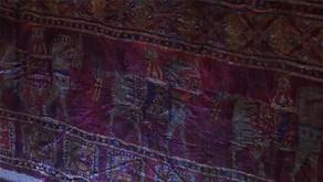 Türk Pazırık Halısı Renk İncelemesi İlerliyor