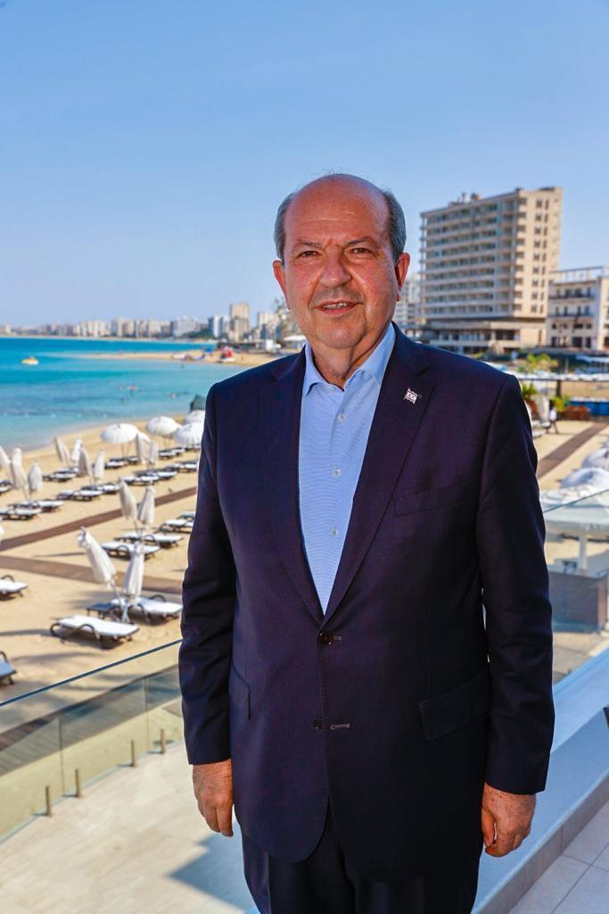 Kuzey Kıbrıs Türk Cumhuriyeti Cumhurbaşkanı Ersin Tatar