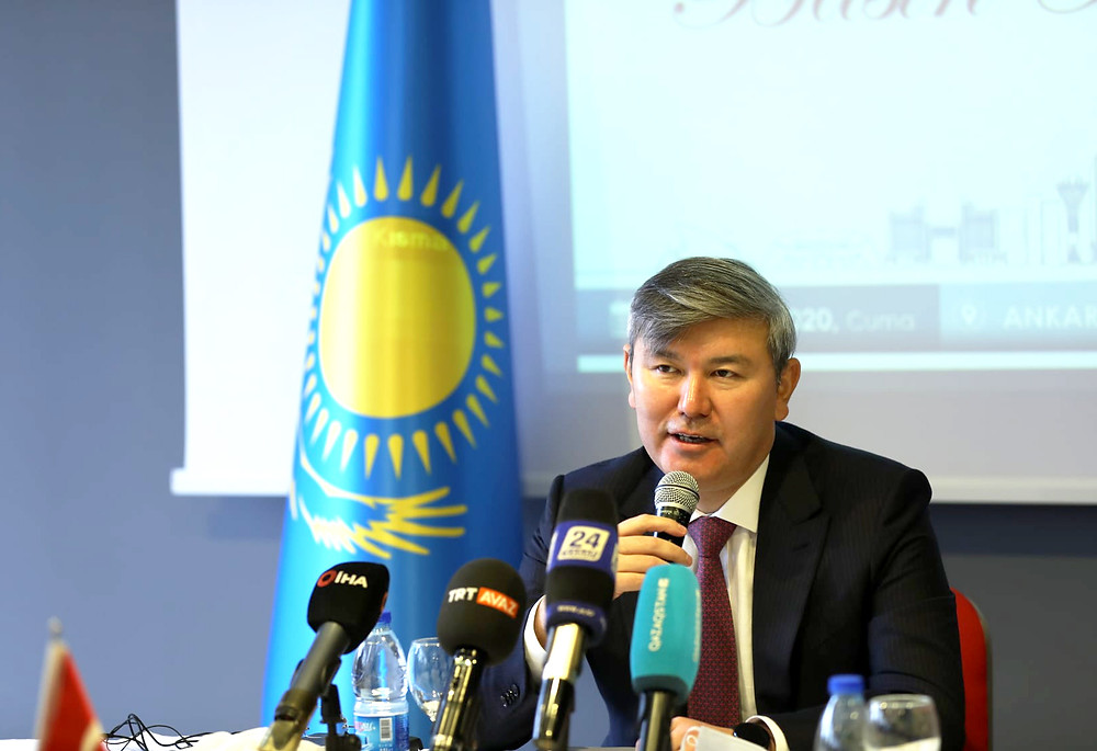 Kazakistan Cumhuriyeti Ankara Büyükelçisi Abzal Saparbekuly
