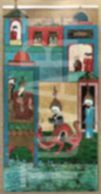 musa, harun, firavun, minyatür, zübdetül tevarih, türk sanatı