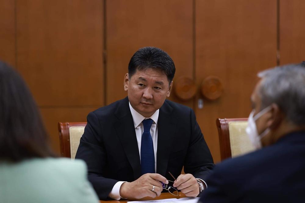 Moğolistan Devlet Başkanı Uhnaagiyn Hürelsüh