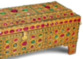 topkapı sarayı eserleri, çekmece, altın sanatı, altın eşya, osmanlı, Türk sanatı