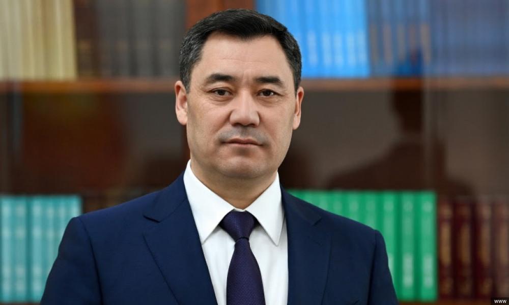 Kırgızistan Cumhurbaşkanı Sadyr Japarov