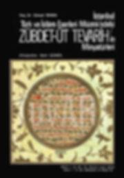 zübdetül tevarih, türk sanatı, hat sanatı, minyatür