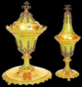 topkapı sarayı eserleri, altın eşya, altın sanatı, Türk sanatı, osmanlı, gülabdan, buhurdan