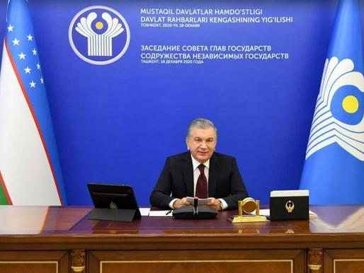 BDT Zirvesine, Özbekistan Cumhurbaşkanı Başkanlık Etti