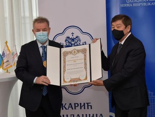 TÜRKSOY Genel Sekreterine Prestijli Ödül