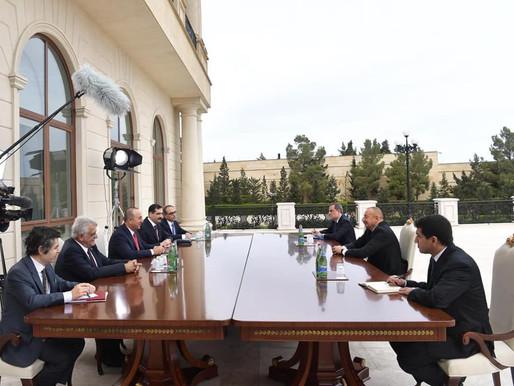 Türkiye Dış İşleri Bakanı, Azerbaycan'ı Ziyarete Gitti