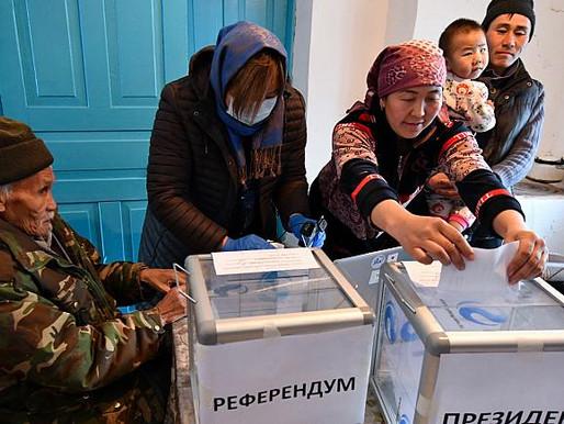 Kırgızistan'da Seçim Ümit Vaat Ediyor