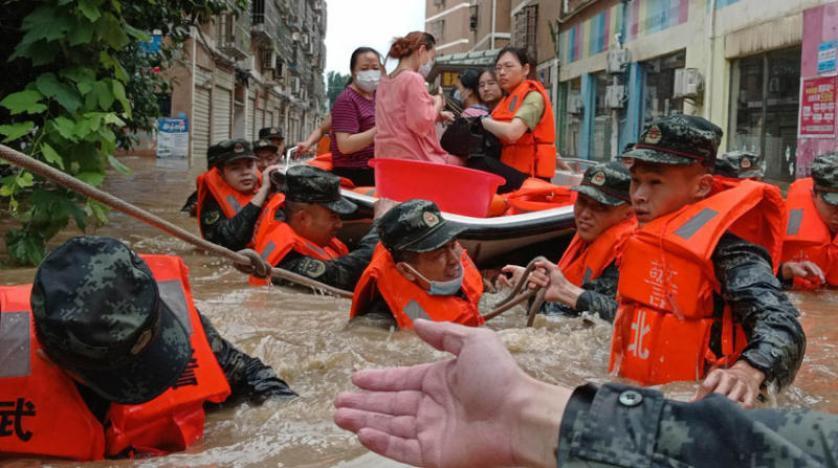 Çin Meteoroloji Kurumu, daha fazla yağmur beklendiğini açıkladı (AP)