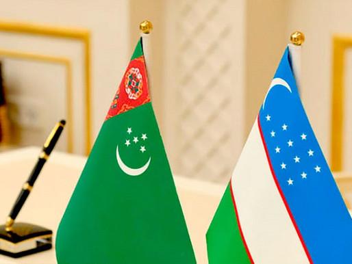 Türkmenistan ve Özbekistan buluşması