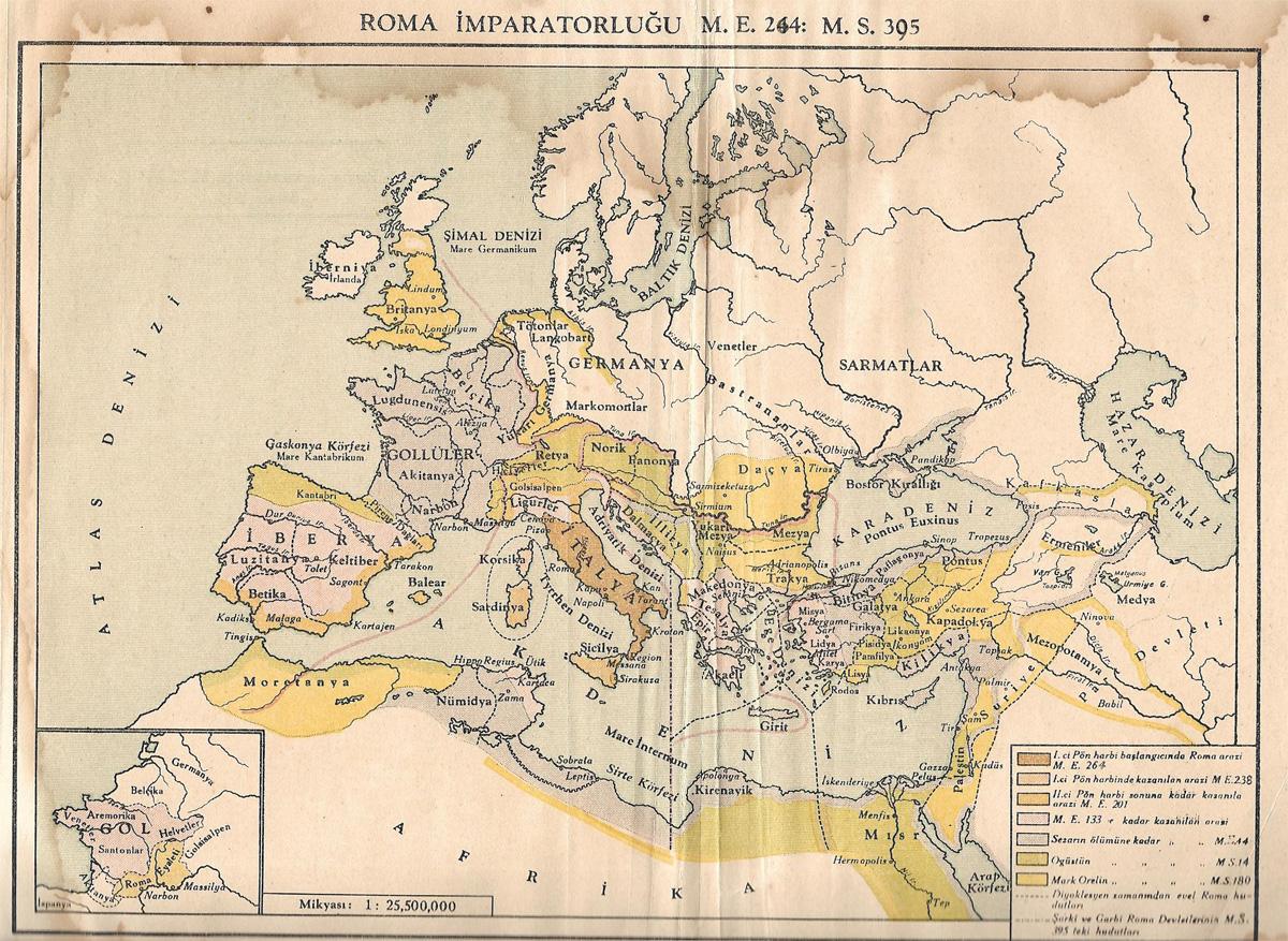 Roma İmparatorluğu (ME 244-MS395)