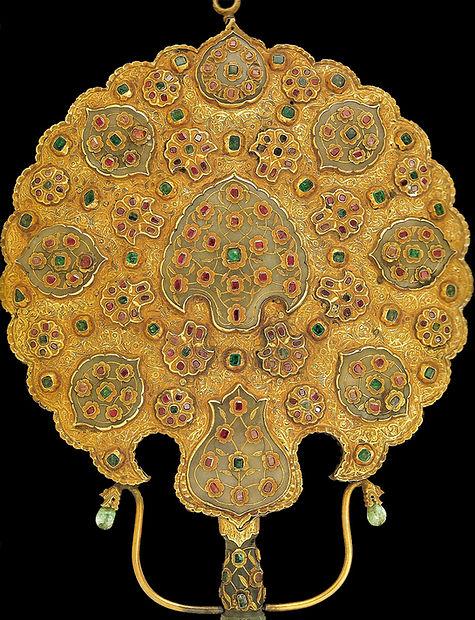 topkapı sarayı eserleri, altın eşya, altın sanatı, osmanlı, Türk sanatı
