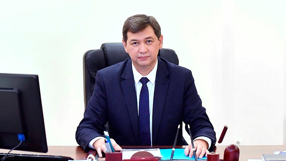 Yerlan Kiyasov, Kazakistan Cumhuriyeti Sağlık Bakan Yardımcısı