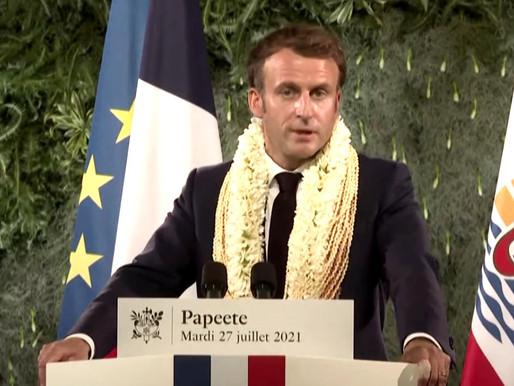 Macron: Bana güvenmeyin!