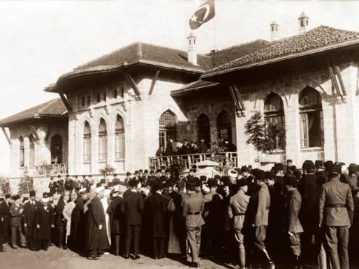 Atatürk'ün Ankara'ya Gelişi Anısına Kızılca Gün Anıtı
