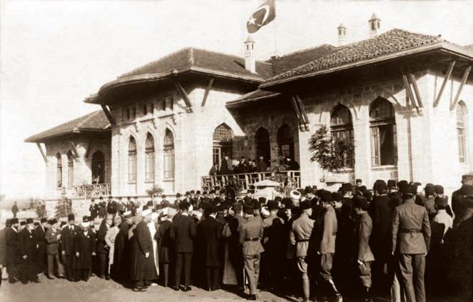 TBMM'nin Açılışı, Ankara, 23 Nisan 1920