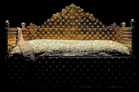 Topkapı Sarayı, Altın bayram Tahtı, Padiah Tahtı, İbrahim Paşa