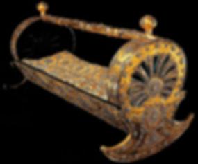 Topkapı sarayı, Murassa Altın Beşik, Türk Sanatı, Osmanlı sanatı, altın eşya