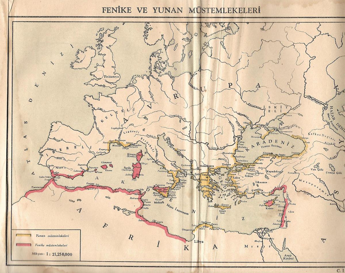 Fenike ve Yunan Müstemlekeleri