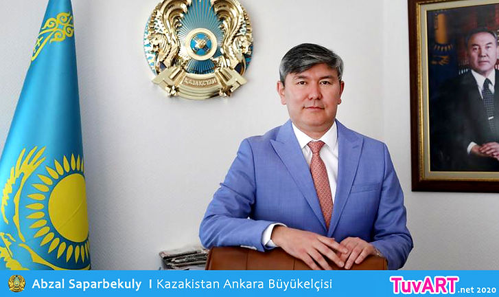 Abzal Saparbekuly, Saparbekulu, Kazaksitan Büykelçisi, Kazakistan Ankara Büyükelçisi,