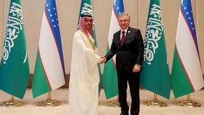Özbekistan ve Arabistan Görüştü