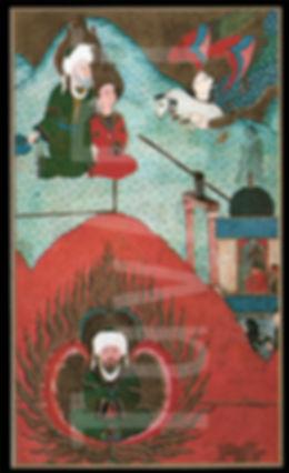 ibrahim peygamber, zübdetül tevarih, minyatür, türk sanatı