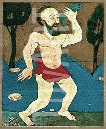uc peygamber, og, zübdetül tevarih, minyatür, türk sanatı