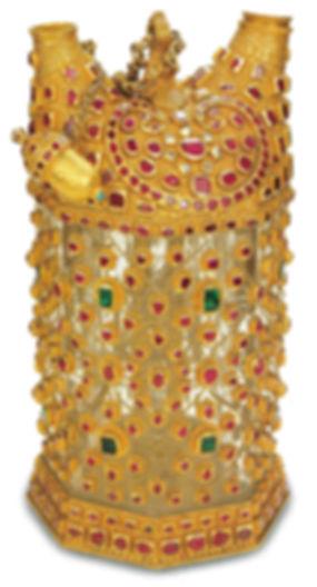 topkapı sarayı eserleri, altın eşyalar, necef matara, osmanlı sanatı, Türk sanatı