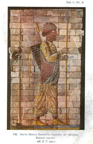 VII. Sus'ta Birinci Daryüs'ün Sarayına Ait Tezyinat