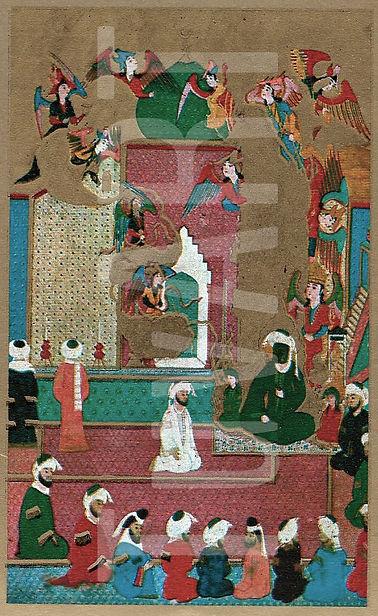zübdetül tevarih, hz muhammed, minyatür