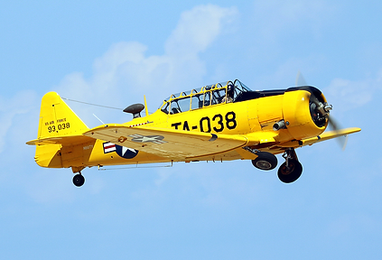 "1944 AT-6 Texan ""Spanish Lady"""
