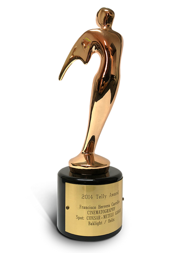 2014 TELLY AWARD CINEMATOGRAPHY