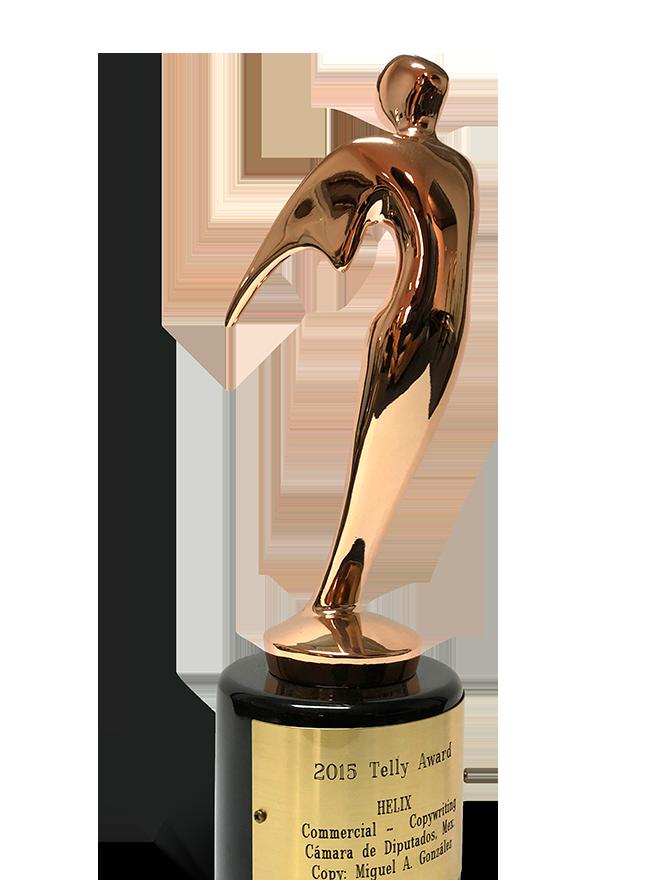 2015 TELLY AWARD COMERCIAL COPYWRITING