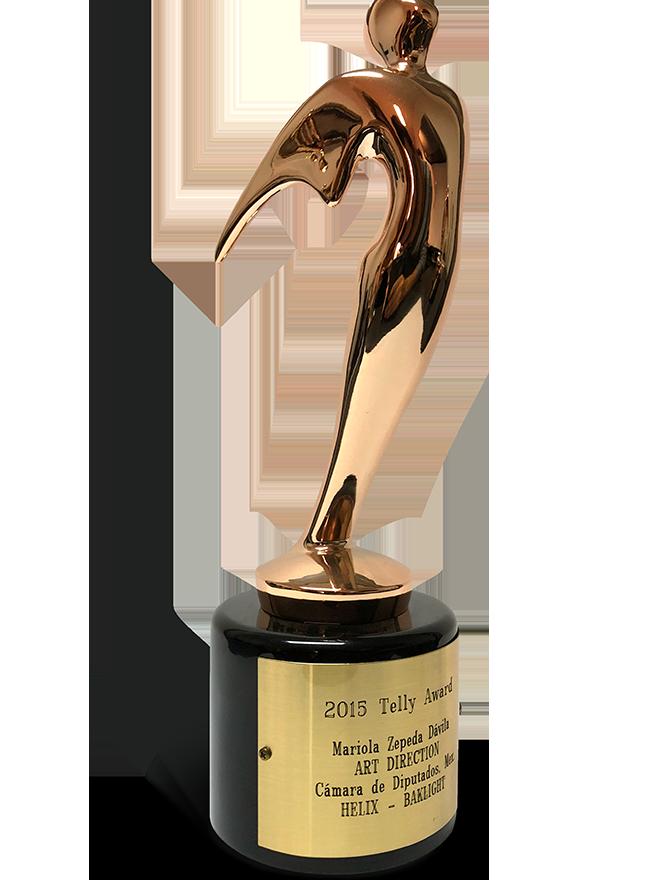 2015 TELLY AWARD AD