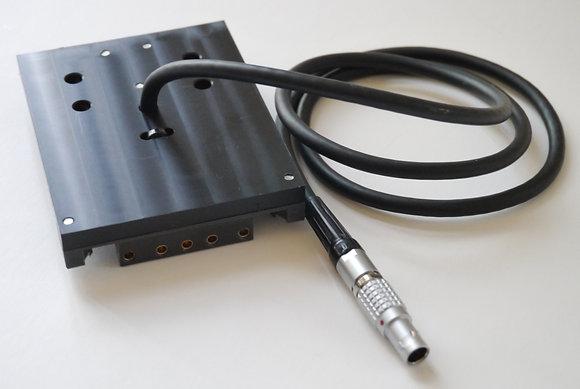 Lemo 2 Pin to V-Lock Wedge