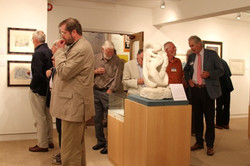Opening Night, Centenary Exhibition at St. Barbe