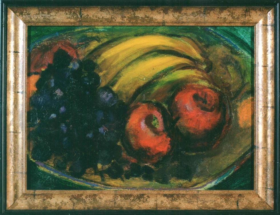 Sven Berlin   Still life with grapes