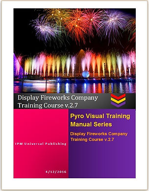 Pyrotechnics Fireworks Training Manual