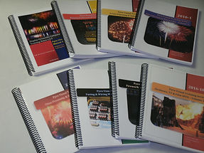 Fireworks Pyrotechnic Training Course manual