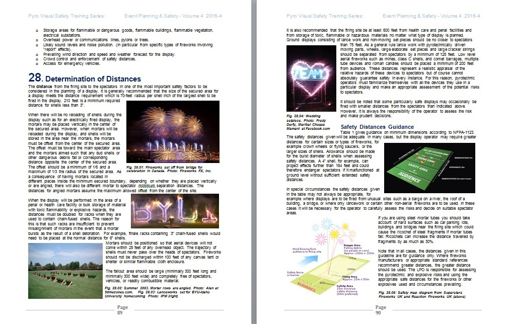 Event Planning Safety Pyrotechnic Fireworks Guidelines